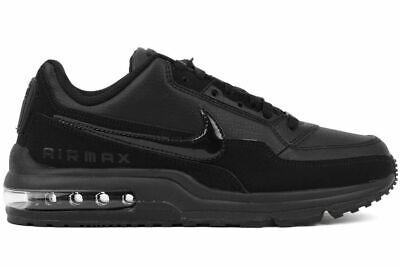 Chaussures Hommes Nike Air Max Ltd 3 Noir Baskets Cuir Sport Gymnastique 687977 | eBay
