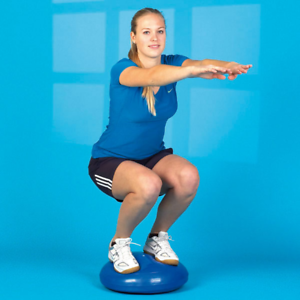 Entrenador Balanceante Besos en Equilibrio Wackelkissen Therapiekissen Fitness