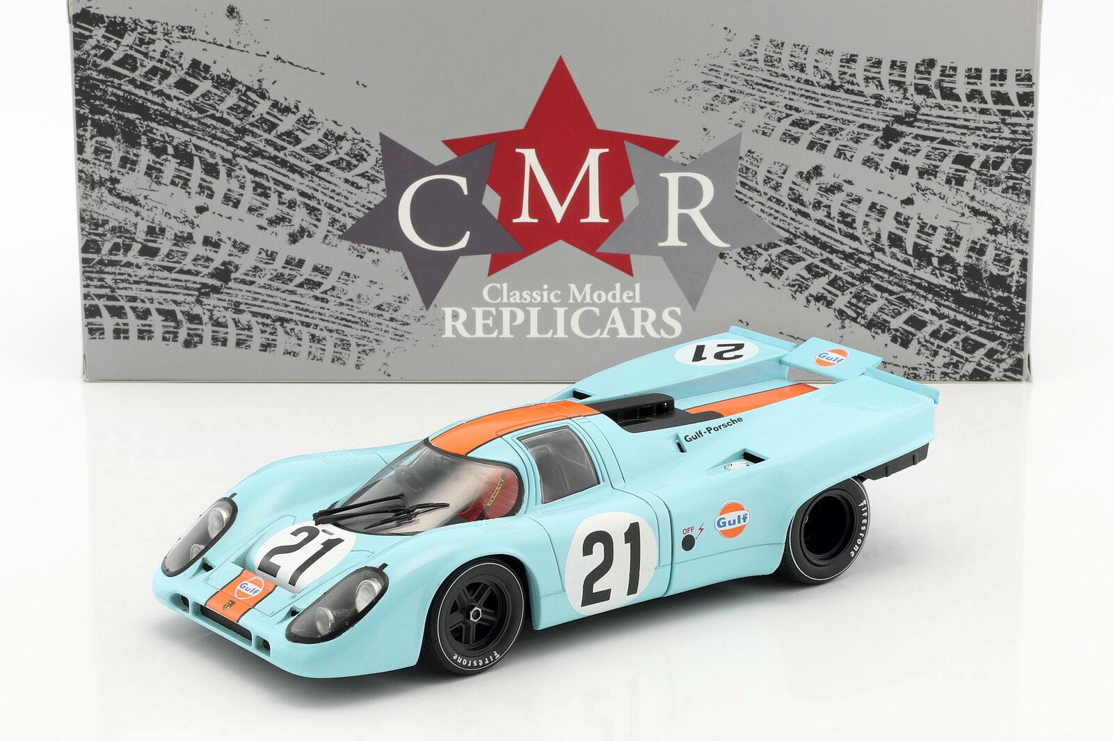 Porsche 917K h LEMANS 1970 Rodriguez, Kinnunen 1 18 CMR