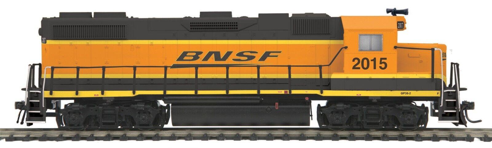 MTH HO 85-2017-0 BNSF GP38-2 DC,DCC READY ROAD NO. 2015
