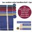 100-Mens-Cotton-Handkerchiefs-Large-Gents-King-Size-White-Dark-Color-Lot thumbnail 28