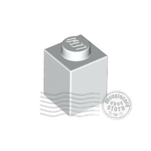 4x LEGO 3005 Mattoncino 1x1 Bianco300501