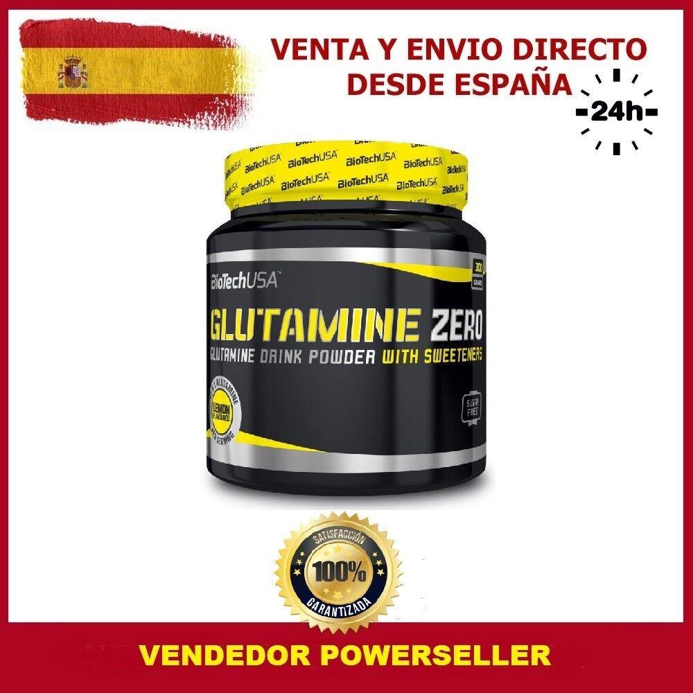 GLUTAMINE ZERO 300 Gr. LIMON - GLUTAMINA GLUTAMINA - -  (ANTI-CATABÓLICO) BIOTECH USA c59e05