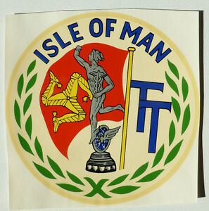 Accessoires & Fanartikel Aggressiv Isle Of Man Iom Schriftzug 13 Cm Wasserabziehbild 45101j Abziehbild Elegant Im Stil