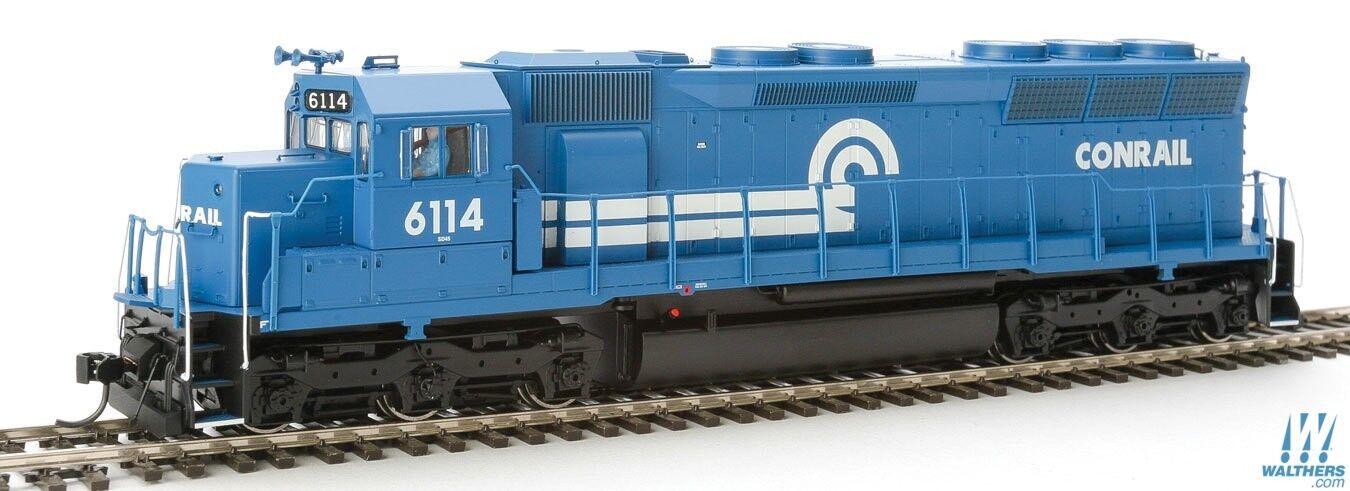 HO Scale - WALTHERS PROTO 920-41071 CONRAIL SD45 Locomotive   6114 DCC & SOUND