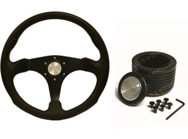 SAAS SPORTS STEERING WHEEL AND BOSS KIT Suits HOLDEN VR COMMODORE