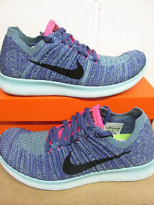 promo code lower price with presenting nike womens free RN flyknit running trainers 831070 502 sneakers ...