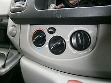 heater fan controls vauxhall vivaro renault trafic traffic blower temperature