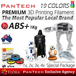 3D Printing Filament ABS+ Premium PanTech 1KG 1.75 mm Spool Reel for 3D Printer.