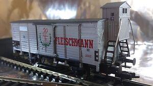 * Fleischmann 825365 Box Wagon 50 Years 1952-2002 HO Scale 1:87 HO - Wroclaw, Polska - Zwroty są przyjmowane - Wroclaw, Polska