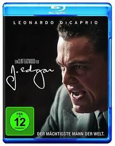 Blu-ray-J-Edgar-mit-Leonardo-DiCaprio-Wie-Nagelneu