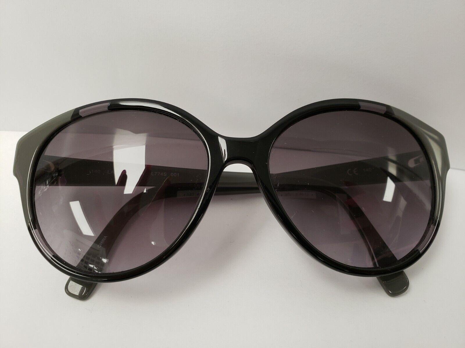 (I-6654) Lacoste Sunglasses-Black