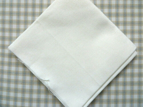 "White 19/""x 19/"" or Khaki 19/""x 20/"" U PIK 28 Count Evenweave Cotton XStitch Fabric"