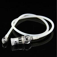"""2 x Replacement 37.4"""" Glass & Silicon Hose whips For Easy Fits Most"""