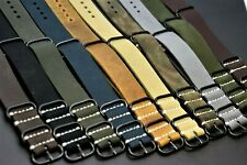 Leather watch Strap, Military band,fits Panerai 18/20/22/24/26 mm gift man