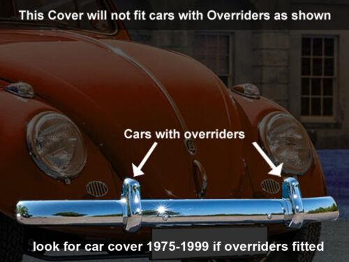 VW Volkswagen Clásico Beetle maletero hasta 1975 Funda De Coche Interior dustpro Interior