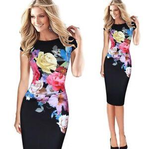 Women-Bodycon-Cocktail-Mini-Sleeveless-Pencil-Dress-Ladies-Slim-Party-dress