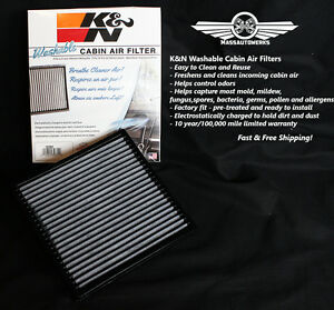 Image Is Loading K Amp N Replacement Cabin Air Filter Ford