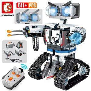 2020-NEW-SEMBO-Technic-RC-Robot-Building-Blocks-Creator-City-Remote-Control