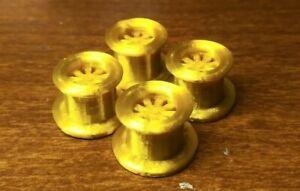 4-Tru-Spoke-Gold-Rush-Schaper-Stomper-4x4-Monster-Truck-RIMS-3D-Printed