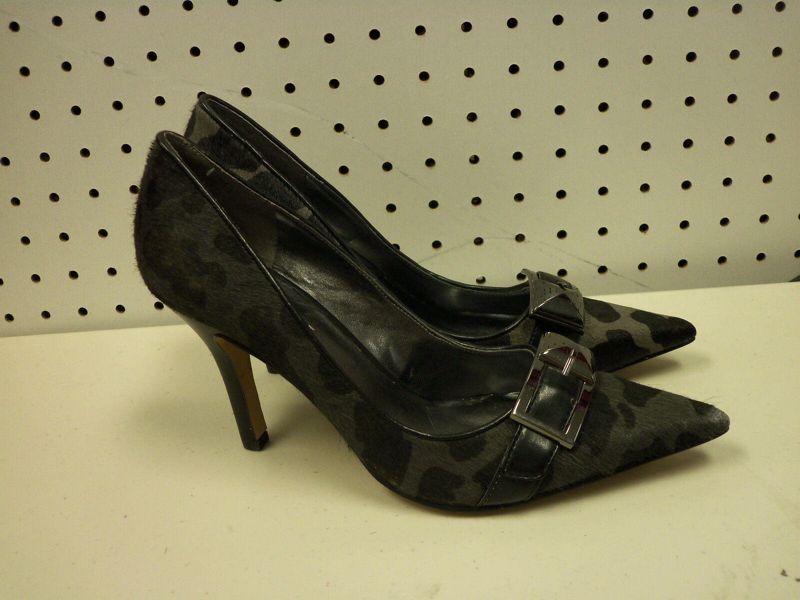 Nine West New Womens 6 M Bell Town Buckle Buckle Buckle Heels shoes 277e1b