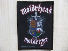 Aufnäher - Patch - Motörhead - Motörizer - Mercyful Fate - Metal Church - Saxon