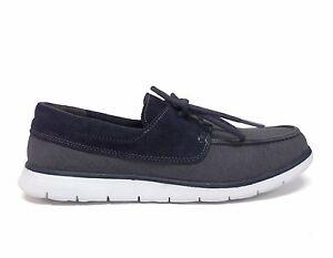 59eaca17869 UGG Australia Men's CATTON CANVAS SUEDE Twinsole Boat Shoes 1006693 ...