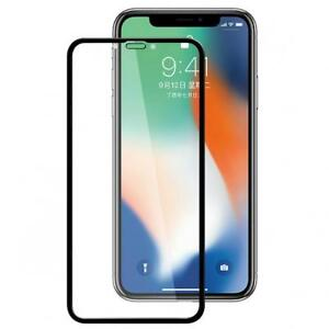For iPHONE XR TEMPERED GLASS SCREEN PROTECTOR ANTI-GLARE CURVED EDGE FULL COVER