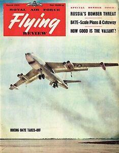 RAF FLYING REVIEW OCT 55 DOWNLOAD Ju 388// FIAT G.82 CUTAWAY// VOUGHT XF8U-1