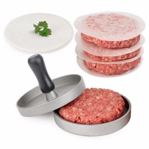 Heavy Hamburger Press Burger Meat Beef Grill Patty Maker Mould Kitchen BBQ Tool