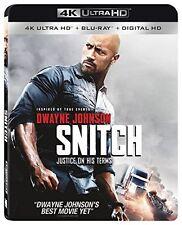 SNITCH (Dwayne Johnson)    (4K ULTRA HD) - Blu Ray -  Region free