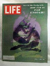April 4, 1969 LIFE Magazine COKE Ad 60s Advertising Eisenhower SEX how far