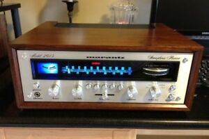 LED-LAMP-KIT-RECEIVER-2015-8v-WARM-WHITE-STEREO-METER-VINTAGE-DIAL-Marantz