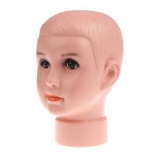 Mannequin Head Model Baby Manikin Glasses Hats Store Window Display Holder