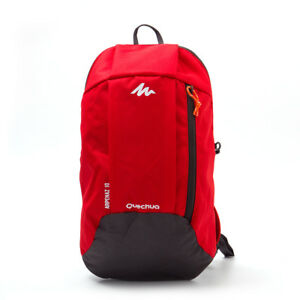 c528a6bb95de8 Details about Quechua RuckSack Bag Arpenaz 10 L 1 Day Hiking Backpack Black  Blue Pink Kids