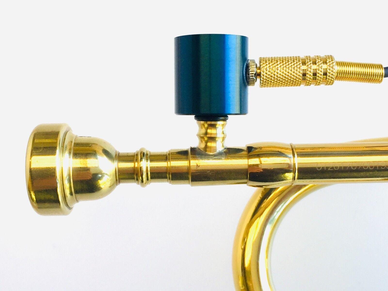 Trompeta piezobarrel P9 Pickup micrófono, Boquilla Bach Bach Bach estilo 7C y Cable 4m  edición limitada en caliente