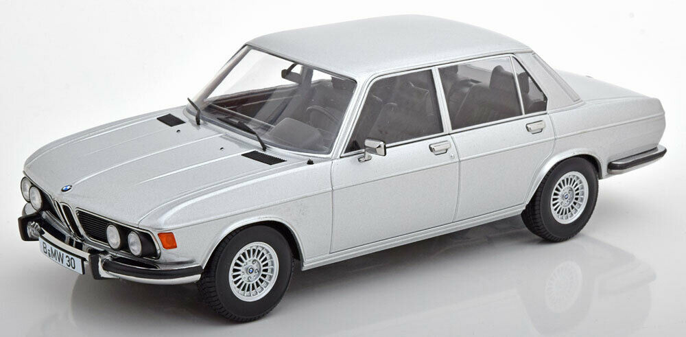 Kk Scale Modells 1971 BMW 3.0 S E3 2 Serie Silber Le von 750 1 18 Maßstab Neu