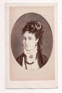 Vintage-CDV-Carmen-Daughter-of-Comte-de-Ponce-DeLeon-Jerez-Photo