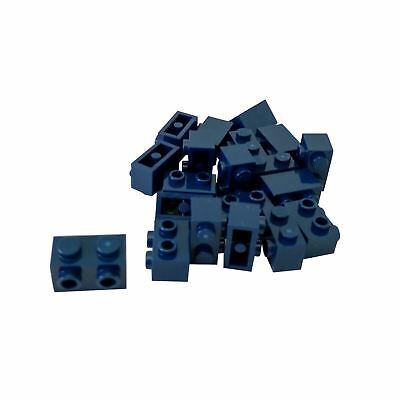Lego 5 New Black Brick Modified 1 x 2 with Studs on 1 Side Pieces