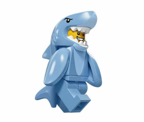 series 15 n-13 Shark suit guy 71011 LEGO,minifigures,minifigure,figure,series