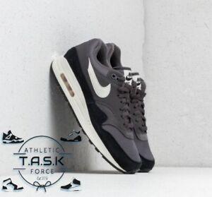 Nike Air Max 1 Thunder Grey/Black/Sail