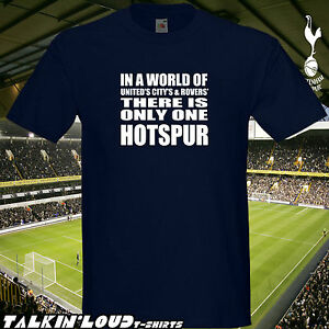 TOTTENHAM HOTSPUR Only One T Shirt Spurs COYS Mens Boys Girls Gift Idea Football