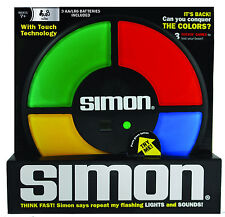 SIMON Electronic Game Lights Sounds Memory Hasbro Classic Digital Counter NEW