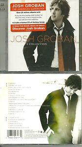 RARE-JOSH-GROBAN-Le-meilleur-de-JOSH-GROBAN-2-CD-NEUF-EMBALLE-NEW-SEALED
