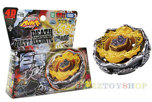 Metal-Fight-Beyblade-4D-BB119-Death-Quetzalcoatl-125RDF-Hasbro-Takara-Tomy-Japan