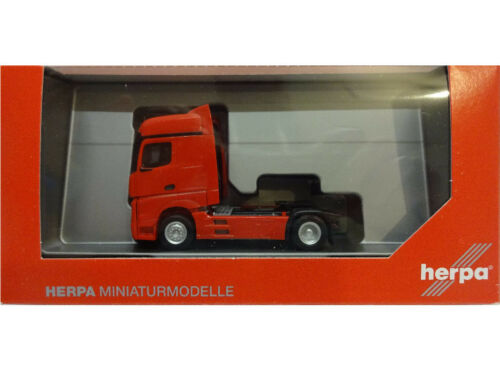 Herpa 309196 Mercedes Benz MB Actros Bigspace rot 1:87 Neu