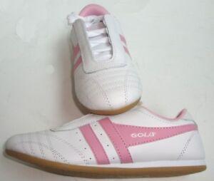 Calzado Blanco deportivo Rosa Mujer Nuevo Sneaker Gola wSnBpZWqv