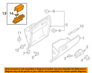 image is loading vw-volkswagen-oem-04-16-touareg-glove-compartment-