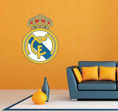 "Real Madrid FC Spain Football Soccer Wall Decor Sticker Decal 20""X25"""