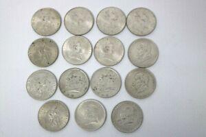 15 x 2 Schilling Österreich Silber